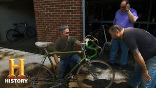 American Pickers: Mike Picks Raleigh International and Dayton Bicycles (S18, E4) | History
