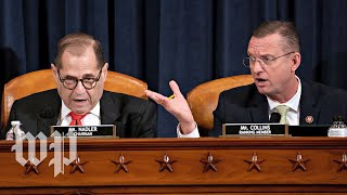 WATCH LIVE   Trump impeachment inquiry: House Judiciary Committee debates articles of impeachment