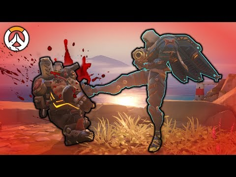 OVERWATCH ► FUNNIES, FAILS & CRAZY MOMENTS #53