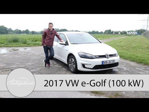 2017 VW e-Golf Facelift (100 kW) Fahrbericht / Wie weit kommt der Stromer wirklich? - Autophorie