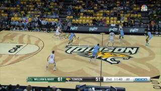 Talk about a comeback The Towson Tigers rallied from a 17point secondhalf