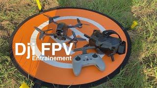 DJI FPV #3 - Entrainement / Premier Fail safe !!
