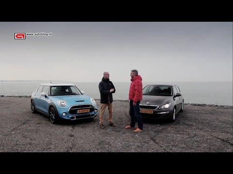 MINI 5-door vs Peugeot 308