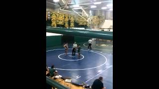 Anthony mendez match 1