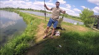 Пруд в дер машково рыбалка