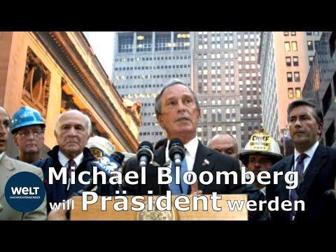 Michael BLOOMBERG steigt ins Rennen um die US-Präsidentschaft ein