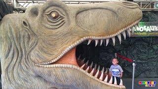 Parque de Dinosaurios, Paseo a Caballo y más✨  Videos para niños - Mimonona Stories