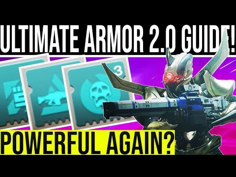Destiny 2 Shadowkeep. ULTIMATE ARMOR 2.0 GUIDE! (Is The System Any Good??)