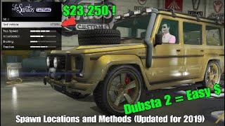 GTA 5 Online Modded Dubsta 2 Spawn Locations and Methods  (Updated for 2019)