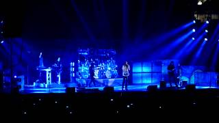 SPACE-DYE VEST - DREAM THEATER live MILAN - MILANO ITALY 20/01/2014 - HD