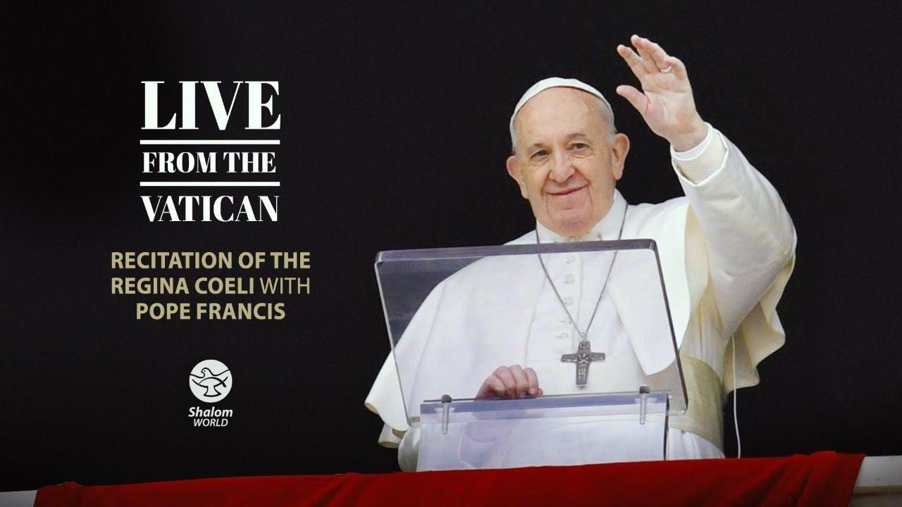 Sunday Live Mass 2 May 2021 Recitation of the Regina Coeli with Pope Francis