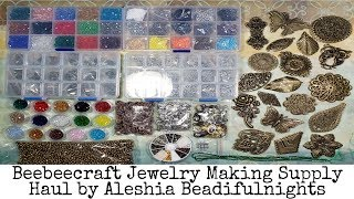 Beebeecraft Jewelry Making Supply Haul