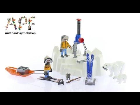 Vidéo PLAYMOBIL Action 9056 : Explorateurs avec ours polaires