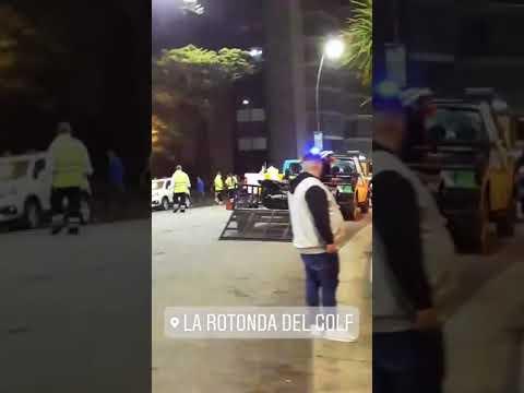 Mar del Plata: estaba flojito de papeles y prendió fuego su moto para que no se la secuestren