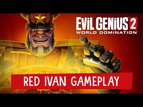 Evil Genius 2: World Domination Red Ivan Brian Blessed trailer