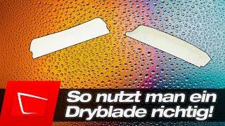So nutzt du ein Dryblade richtig! wichtige Tipps für schnelles und sicheres Lacktrocknen!