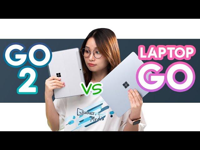 Surface Laptop Go vs Surface Go 2: Giống mà Khác