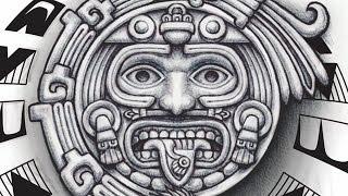 Tonatiuh Aztec God Tattoo