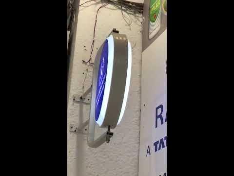 Rotating Revolving Sign Board