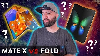 Huawei Mate X vs Samsung Galaxy Fold - Which is better?