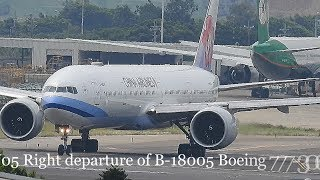 RW05 Right Departure B-18005 Of 中華航空 China Airlines
