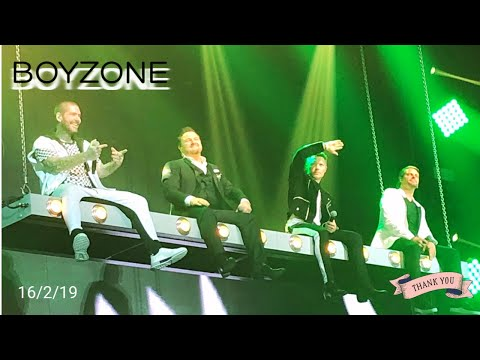 BOYZONE 'Thank You & Goodnight', The Farewell Tour. Wembley Arena 16/2/2019 - See Shell