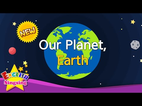 Our Planet, Earth - continents & oceans - educational video for kids