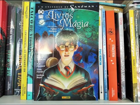 Os Livros da Magia vol. 1 - Tipos Móveis