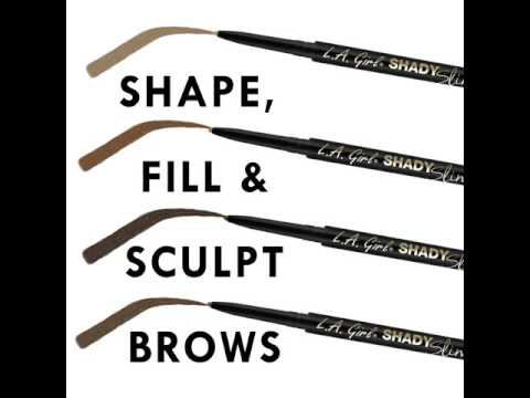 LA Girl LA Girl Shady Slim Brow Pencil Blackest Brown