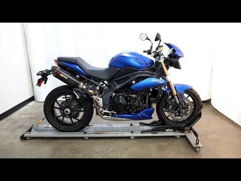 2014 Triumph Speed Triple ABS in Eden Prairie, Minnesota - Video 1