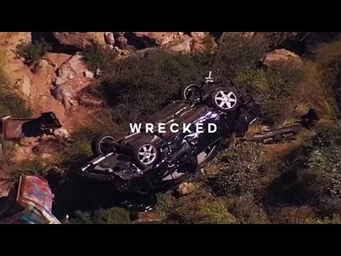 HECTIC CAR CRASH OFF THE CLIFF!!! // #theweekendventure
