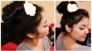 Fast & Easy Messy Bun Tutorial
