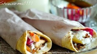 🌯 Chicken Shawarma | Middle East Recipes | Recipes Are Simple