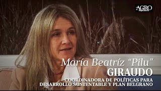 Pilu Giraudo - Coordinadora de Políticas para Desarrollo Sustentable