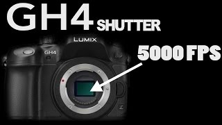 GH4 Shutter speed in Slow Motion 5000 FPS - SlowMo pour les nOObs