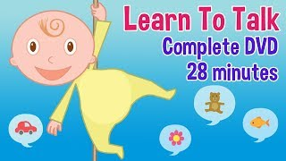 Learn to Talk - Complete DVD - By Oxbridge Baby