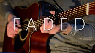 (Alan Walker) Faded - Fingerstyle Guitar Cover (with TABS)