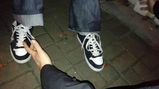 Nauka wiązania butów dla opornych 18+ :-D