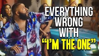 """Everything Wrong With DJ Khaled - """"I'm The One"""""""