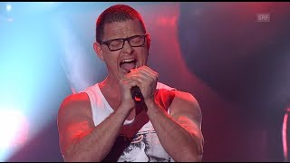 Marc Reinhard - Highway To Hell - Blind Audition - The Voice of Switzerland 2014