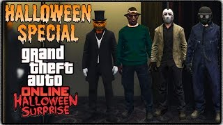 "GTA 5 Online - ""HALLOWEEN SPECIAL"" FASHION FRIDAY! (Freddy Krueger, Jason, The Zodiac & Many More)"
