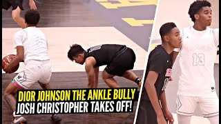 Dior Johnson Turns Into ANKLE SNATCHER & Makes Defender TOUCH THE EARTH!! Josh Christopher SNAPS!