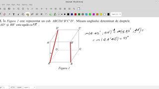 MODEL OFICIAL - Evaluarea Nationala 2019 - Matematica