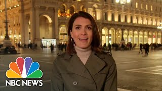 Italy Closes Duomo Cathedral In Effort To Stop Coronavirus Spread | NBC