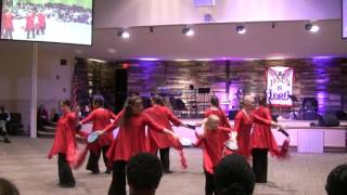 Daughters of Zion group dance - This Beating Heart by Matt Redman - Shachah conference at BMCR