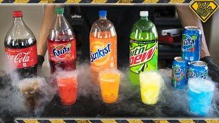 Turn Soda into Slushies?! TKOR's How To Make A Slushie Slurpee From Pop!