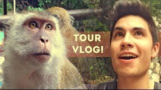 TOUR VLOG Ep.1: Monkey Business | Sam Tsui
