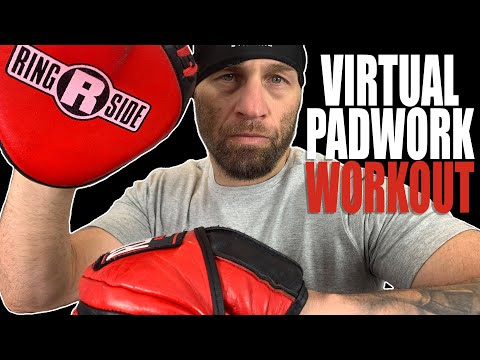 10 Round Boxing Workout | Virtual Padwork | Beginner Boxing Combos