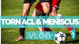 Pre-Surgery: Torn ACL & Bucket Handle Meniscus Tear