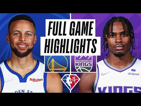 Sacramento Kings vs Golden State Warriors</a> 2021-10-25